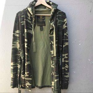 LUCKY BRAND small camo jacket